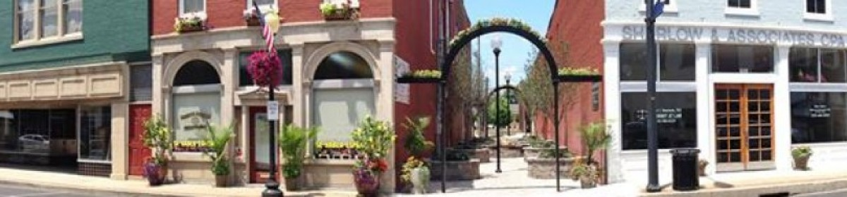 Downtown Campbellsville - Business - panoramic